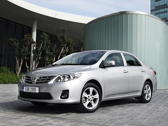 Самым продаваемым автомобилем в мире стал седан Toyota Corolla
