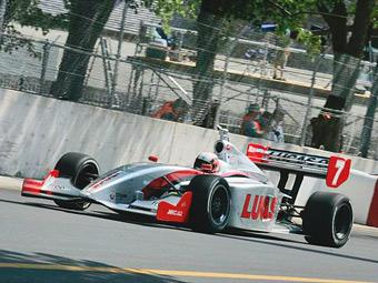 Болиды серии Indy Lights поедут на сжиженном природном газе