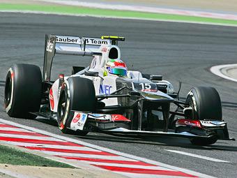 Болид Sauber назвали быстрейшим в Формуле-1