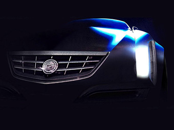 Cadillac показал изображения гламурного концепт-кара
