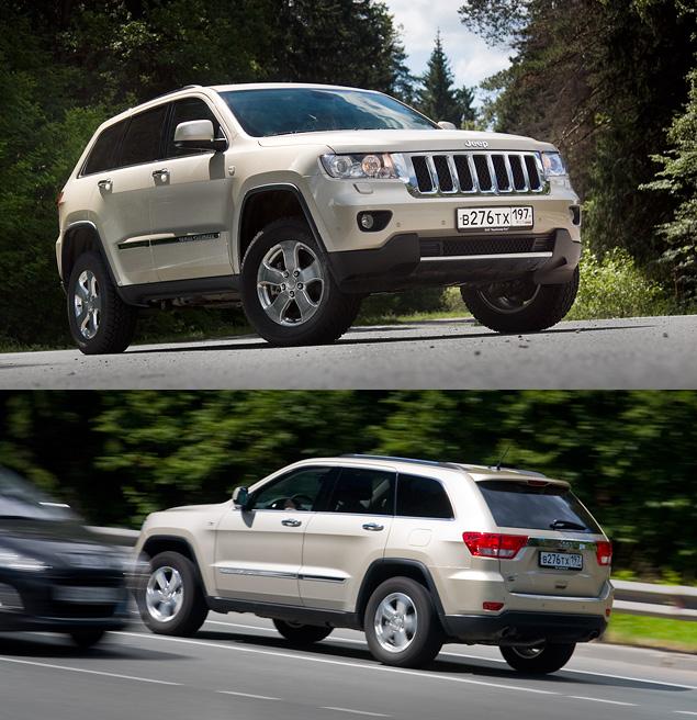 Длительный тест Jeep Grand Cherokee: аппетит, бездорожье и стоимость владения