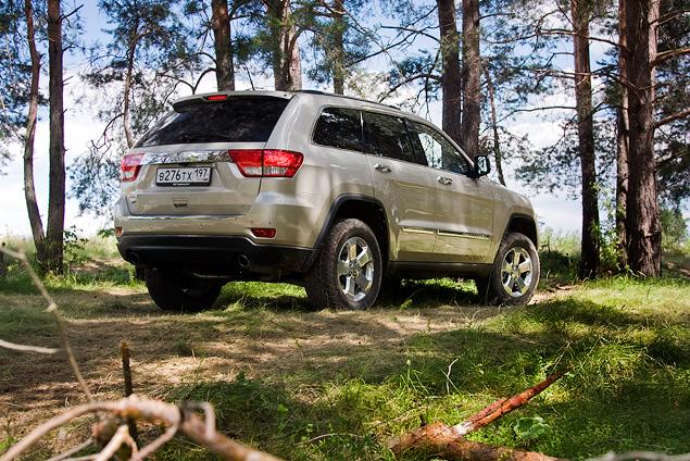 Длительный тест Jeep Grand Cherokee: аппетит, бездорожье и стоимость владения. Фото 12