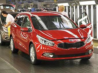 В Словакии началось производство нового универсала Kia cee'd