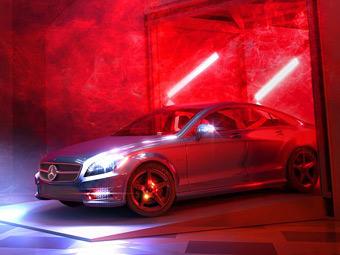 Mercedes-Benz показал первую фотографию новой модели