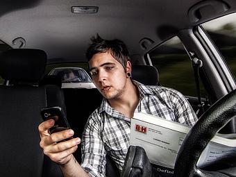 Американские ученые оправдали разговоры по телефону за рулем