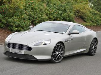 Новый Aston Martin DB9 сфотографировали без камуфляжа