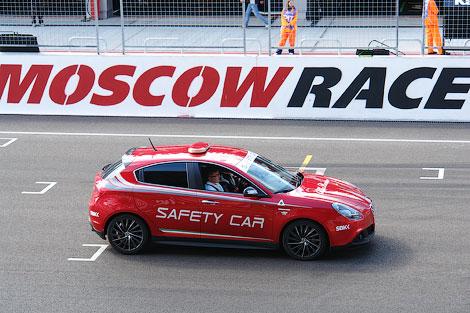 Презентация машины прошла в рамках этапа Чемпионата Мира по Супербайку