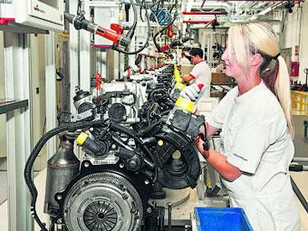 Volkswagen построит в Калуге завод по выпуску двигателей