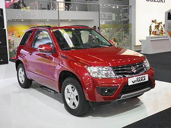 Кроссовер Suzuki Grand Vitara обновился