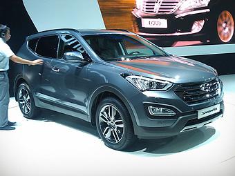 Новый кроссовер Hyundai Santa Fe добрался до России