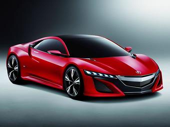 Через три года в России появится cуперкар Acura NSX