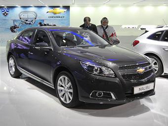 Стали известны рублевые цены седана Chevrolet Malibu
