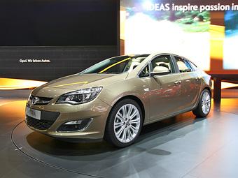 Opel провел мировую премьеру нового седана Astra