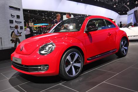 """Компания показала Beetle, спецверсию Scirocco и Amarok с 8-ступенчатым """"автоматом"""""""