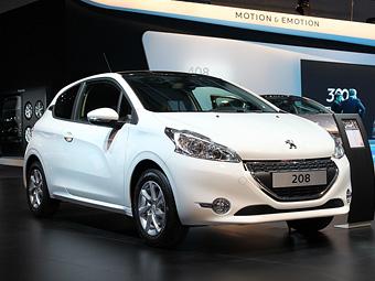 Peugeot 208 начнут продавать в России в 2013 году