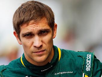 Петров может потерять место в Формуле-1