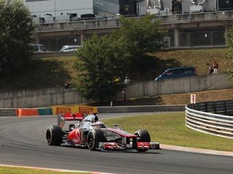 Дженсон Баттон выиграл квалификацию Гран-при Бельгии Формулы-1
