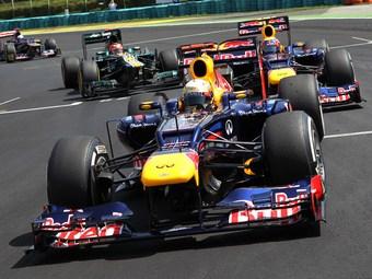 Напарникам по Red Bull разрешили бороться между собой