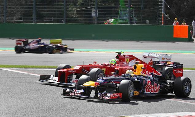 Авария на старте Гран-при Бельгии оживила интригу в Формуле-1. Фото 3