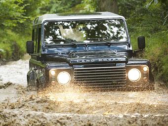 Land Rover обновил внедорожник Defender