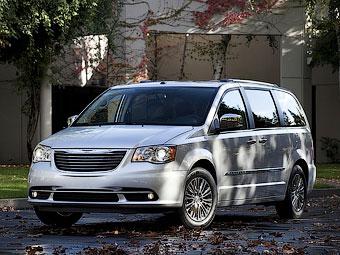 Chrysler заменит минивэн Town & Country кроссовером