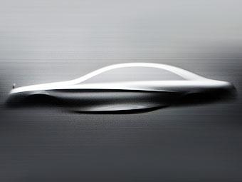 Mercedes-Benz покажет силуэт нового S-Class на скульптуре