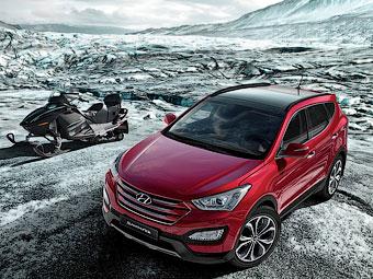 Стали известны российские цены на новый Hyundai Santa Fe