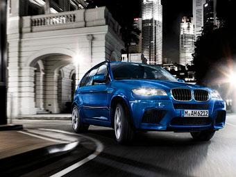 Компания BMW назвала стоимость обновленных X5 M и X6 M
