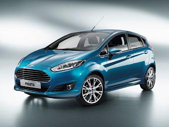 """Ford показал обновленную """"Фиесту"""" для Европы"""