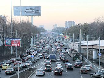 В Москве открыли участок четвертого транспортного кольца