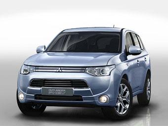Компания Mitsubishi подробно рассказала о серийном гибриде Outlander