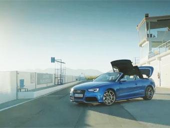 Audi RS5 лишился крыши