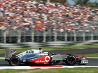 Пилоты McLaren превзошли конкурентов в тренировке Гран-при Италии