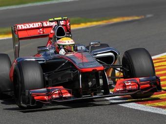 Команда McLaren начнет Гран-при Италии с первого ряда