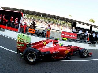Фелипе Масса нацелился на победу в Гран-при Италии