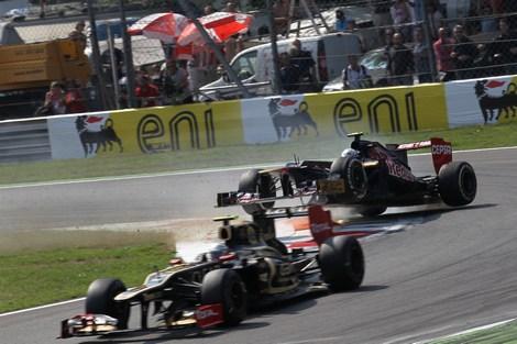 Пилот Scuderia Toro Rosso так и не понял причину собственного вылета