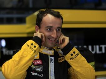 Кубица выиграл первую гонку после возвращения в спорт