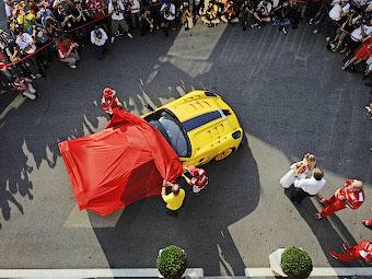 """""""Благотворительный"""" суперкар Ferrari достался сотруднику Google"""