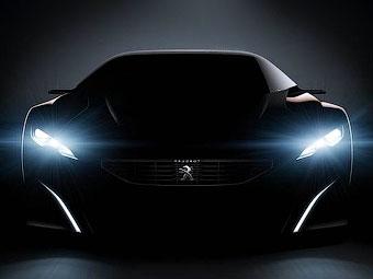 Компания Peugeot разработала гибридный суперкар