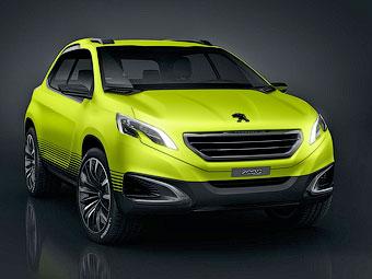 Peugeot покажет в Париже предтечу вседорожного варианта 208