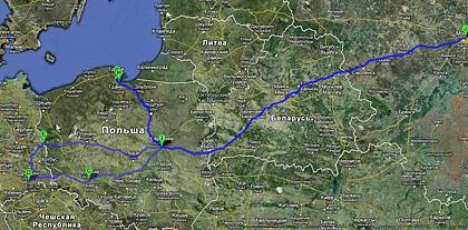 Испытываем российский Kia Rio европейскими дорогами