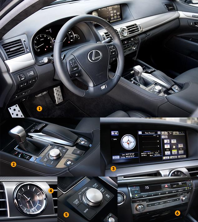 Тест-драйв обновленного флагмана Lexus LS. Фото 9