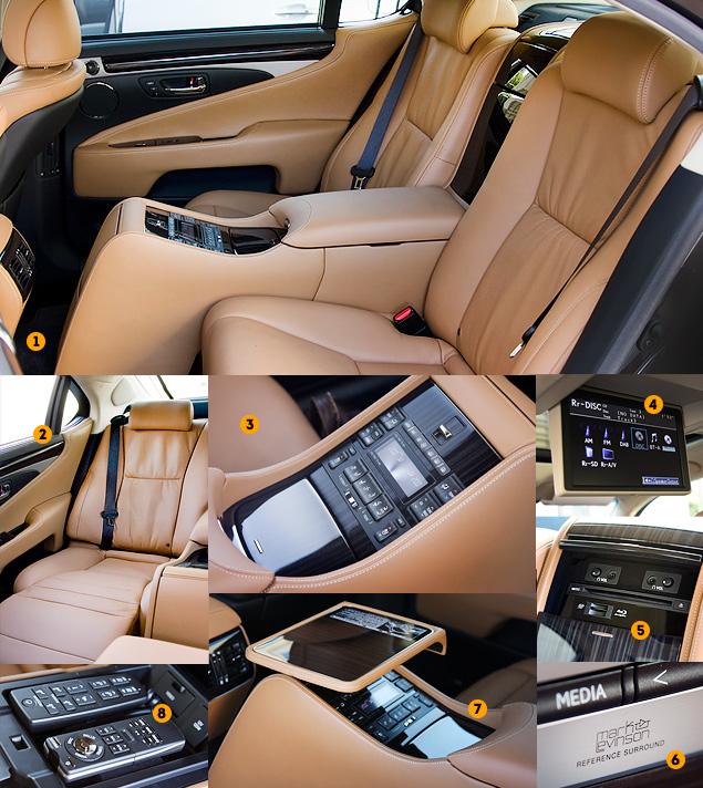 Тест-драйв обновленного флагмана Lexus LS. Фото 11