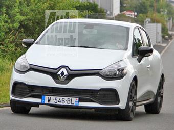 Фотошпионы рассекретили новый Renault Clio RS