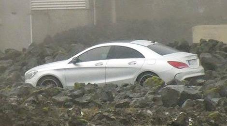 Новинка была запечатлена в Исландии во время тестов