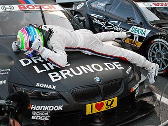 Бруно Спенглер на BMW выиграл гонку DTM в Ошерслебене