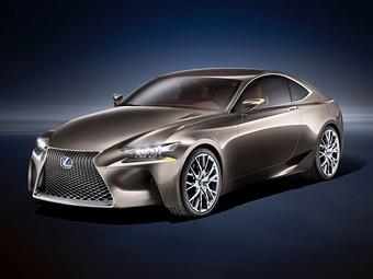 Lexus намекнул гибридным купе на новое семейство IS