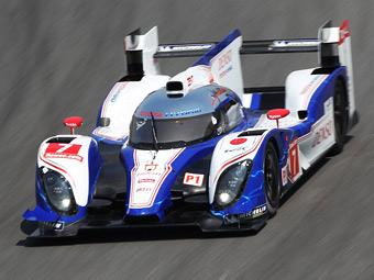 Toyota впервые опередила Audi в гонке на выносливость