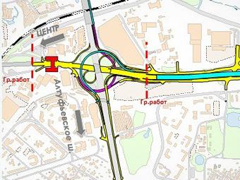 Реконструкцию Дмитровского шоссе закончат в августе 2013 года
