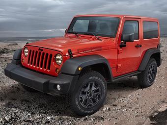 Jeep представит в Париже спецверсии трех моделей